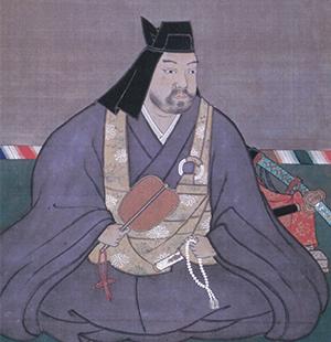 上杉謙信公肖像画